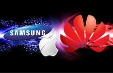 Megnőtt az étvágya, már a Samsungot is maga alá gyűrné a Huawei