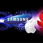 Felkötheti a nadrágját az Apple és a Samsung, rákapcsol a Huawei