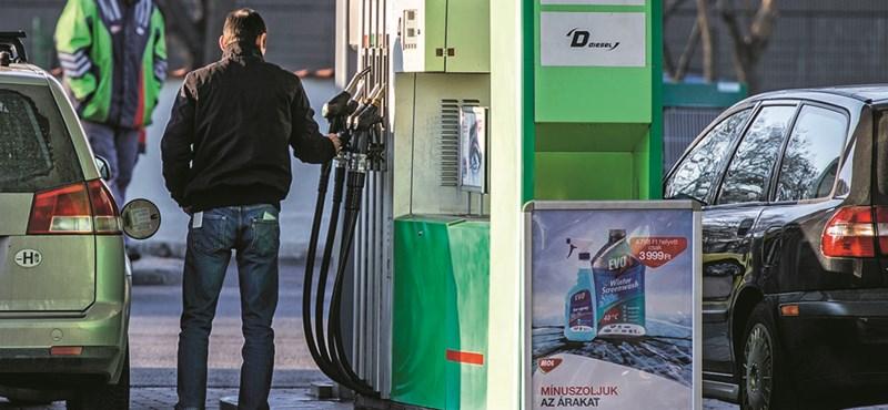 Kellemetlen meglepetés vár ma a benzinkutakon