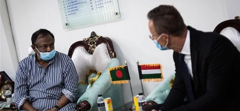 Szijjártó: Új világgazdasági rend jön létre, magyar-bangladesi együttműködés kell