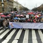 Orbán és tüntető tanárok a hét képein