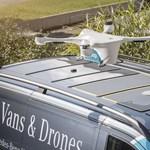 Mercedesek tetején landoló drónok: ez nem a jövő, ez már a jelen