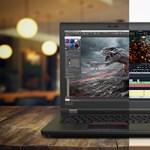 Nagyon vékony, brutális erejű laptopot mutatott be a Lenovo