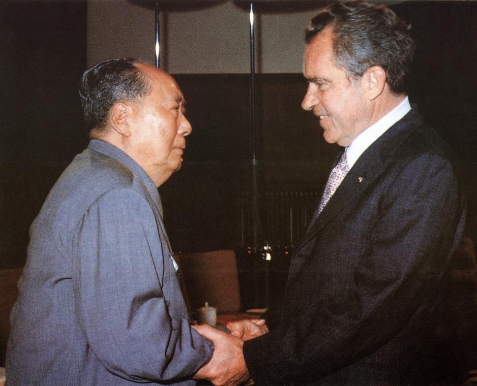 1972.02.22. - Nixon Kínában: Mao Ce Tunggal - Nixonnagyitas