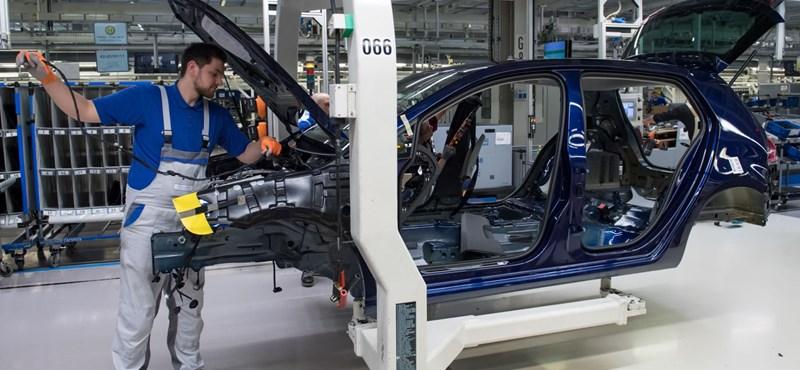 Ötödével is zuhanhat a járvány miatt a német ipar termelése