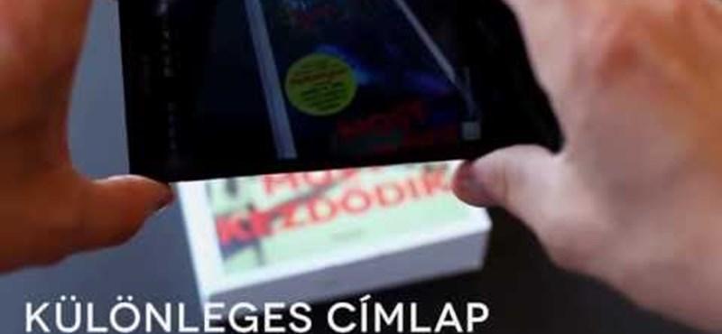Videó: ilyen, amikor megszólal a könyvborító