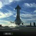 Videó: egyetlen másodperccel indítás előtt állította le a SpaceX a Starship tesztrepülését
