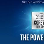 Nagyobb erő, kisebb fogyasztás: megjöttek az Intel 10. generációs processzorai