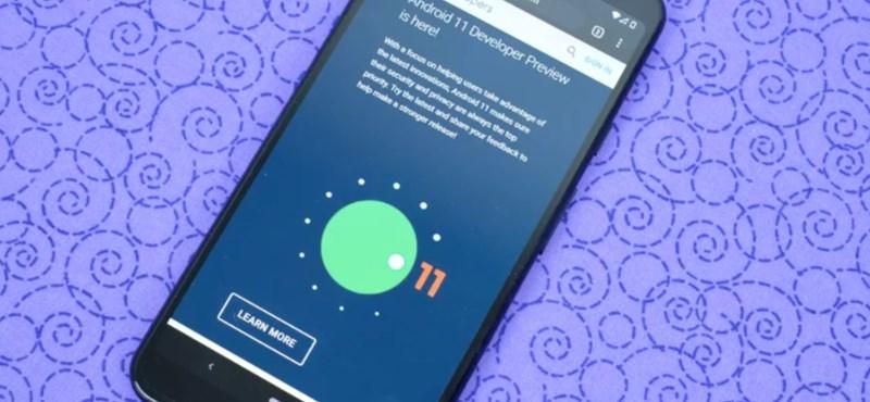 Milyen mobilja van? Megjelent az Android 11