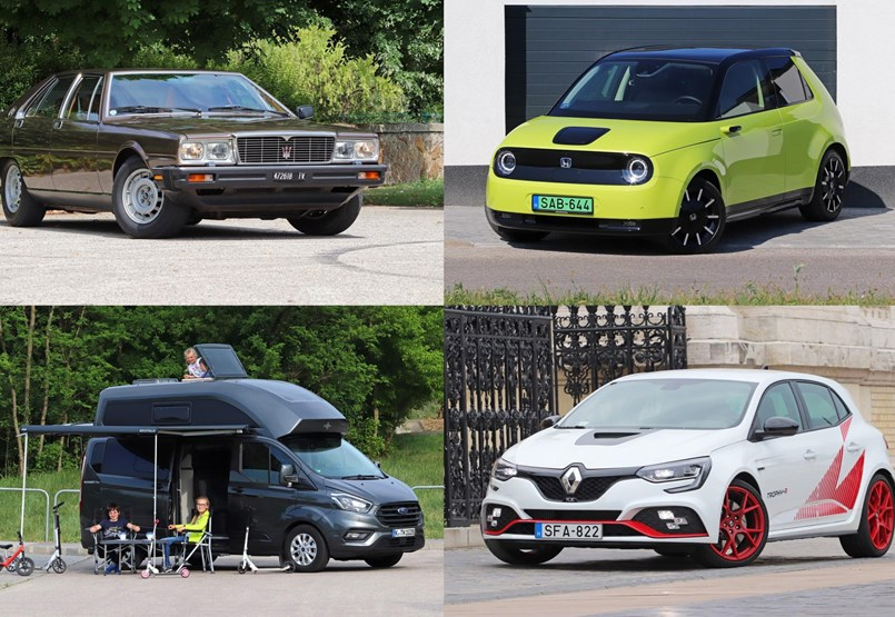 Los autos de prueba 2020 van desde los más hermosos hasta los más duros