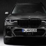 Vészjóslóan sötét, limitált szériás új BMW X7 érkezett