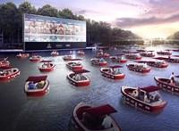 Ha túl sablonos az autósmozi, akkor jön a csónakos mozi