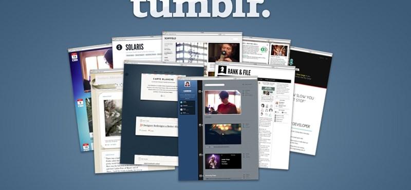 100 millió blognál a Tumblr