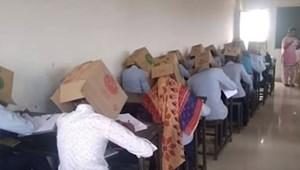 Kartondobozban kellett vizsgázniuk a diákoknak, bocsánatot kért az iskola