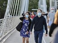 Nagy mértékben csökkent a napi új fertőzésszám Nagy-Britanniában