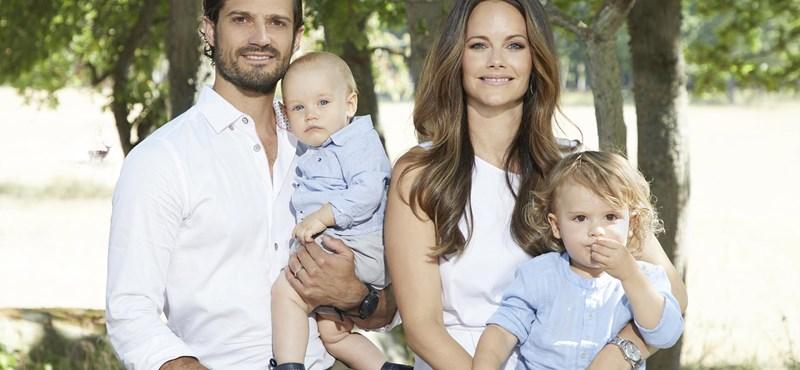 Koronavírusos a svéd királyi család két tagja