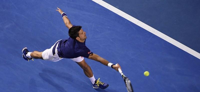 Djokovic toronymagasan az első, Federer maradt Murray sarkában