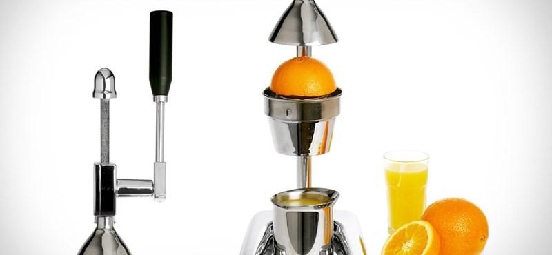 Létezik ennél stílusosabb narancsfacsaró?