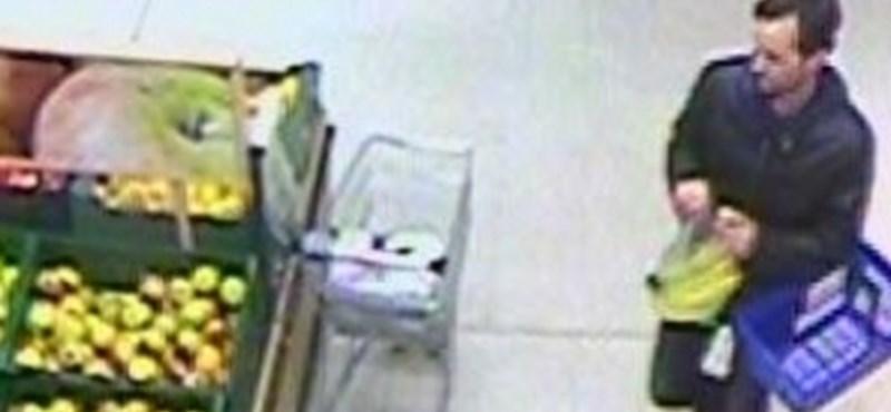 Fotó: Ellopott egy iPhone-t egy győri boltból, keresi a rendőrség