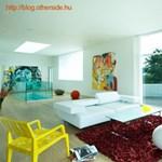 Vidám és színes nappalik a világból