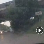 Hatalmas eső zúdult Érdre és Diósdra - videó