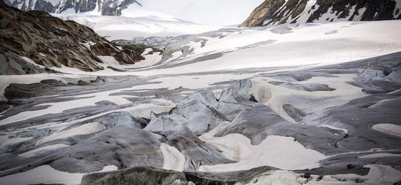 A gleccserek az emberi károkozás fokmérői