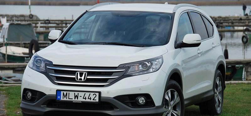 Honda CR-V 1.6 dízel bemutató: ahogy a piac óhajtja