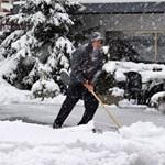 Fotó: leesett az idei első hó Ausztriában