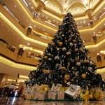 Drágaköves karácsonyfa