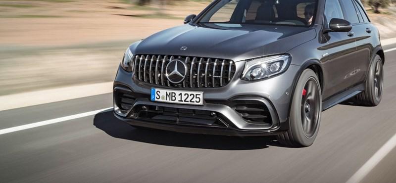 Kellett már, mint egy falat kenyér: itt az 510 lóerős Mercedes-AMG GLC