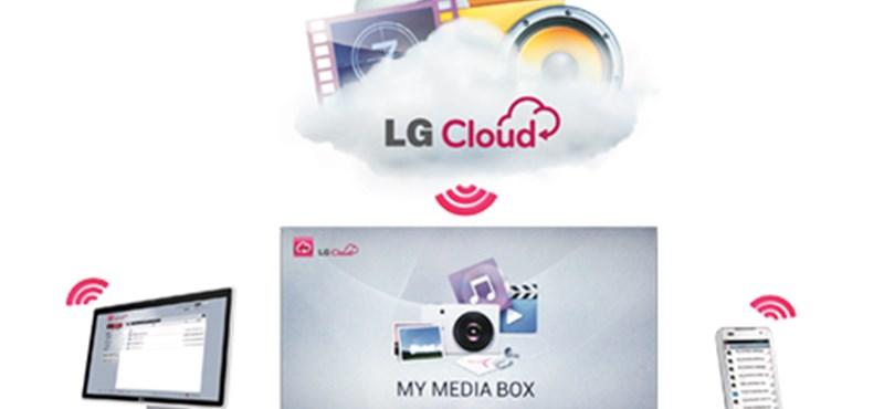 5 giga ingyen: Magyarországon is elindult az LG Cloud