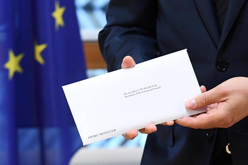 Brexit levél 50. cikk
