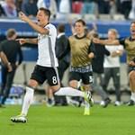 Németország hatalmas lépést tett az Eb-győzelem felé