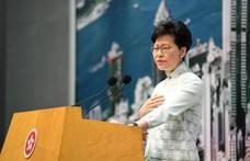 Hongkong vezetői ellen hozott szankciókat Washington