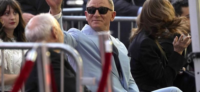 Daniel Craig recibió una estrella en el Paseo de la Fama