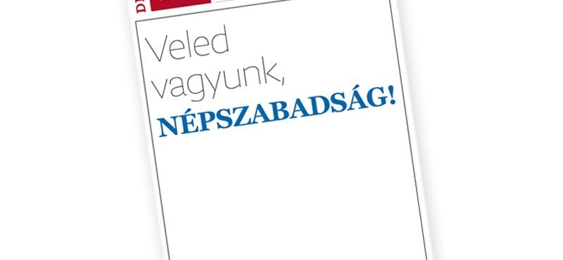 Szlovákiai médiumok is szolidárisak a népszabadságosokkal