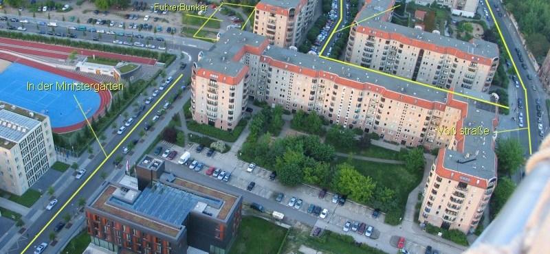 Köztéri emlékezet: Hitler berlini bunkere
