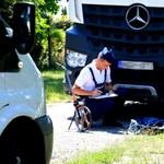 Kukásautó gázolt halálra egy idős nőt Balatonkeresztúron