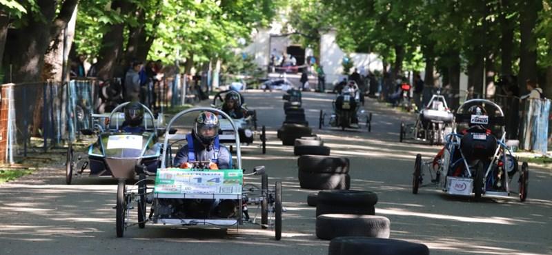 Léghajtásos autókban a magyarok a legjobbak