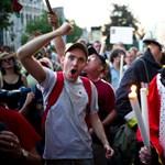 Félpályás útlezárásokkal demonstrálnak szerdán a szakszervezetek