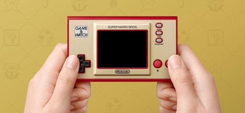 Óra és konzol egyben: retró játékgépet ad ki új köntösben a Nintendo