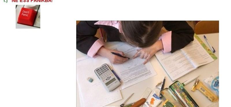 Teszteljétek, milyen gyorsan oldjátok meg a matekérettségit