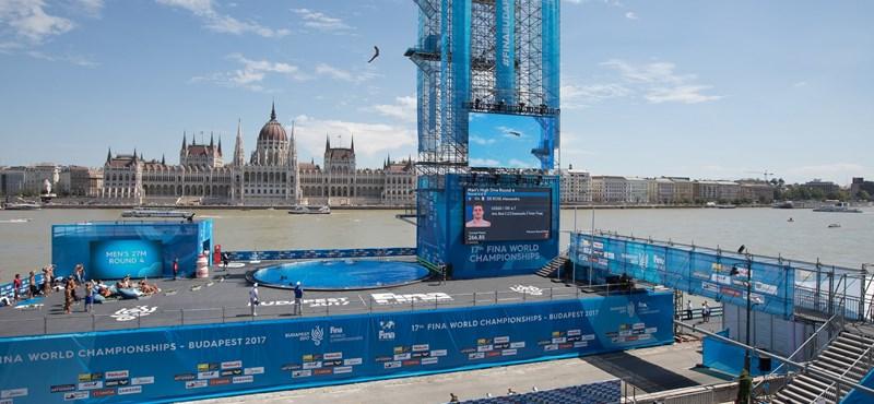 Rájöttek, hogy áradhat a Duna, százmillióval drágult az óriás ugrótorony