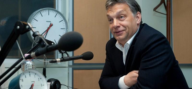 """Orbán: """"senki más nem dönthet"""" a lemondásról, csak Schmitt Pál"""