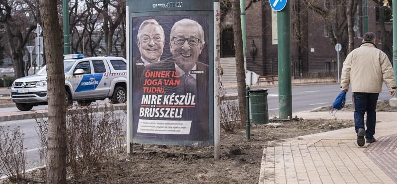 Folytatódik az adok-kapok: kemény választ ígért a plakátkampány miatt Brüsszel