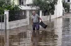 Harmadik napja tombol sajátos hurrikán Görögországban