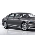 Rajtvonalnál az új Audi A8, kezdődik a forgalmazás