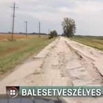 Botrányosan rossz út vezet a Mélypont Emlékhelyhez, pedig uniós százmilliókból építették