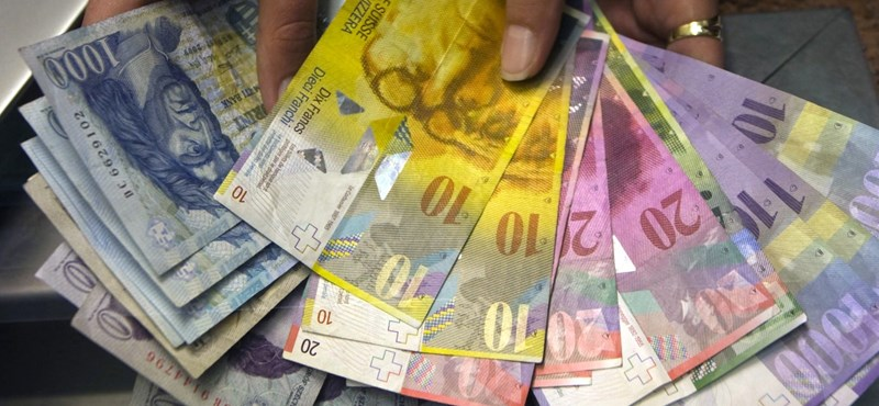 400 forint felett is járt a svájci frank