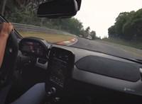 """Félelmetesen megy egy """"amatőrrel"""" is a Nürburgingen a McLaren Senna - videó"""